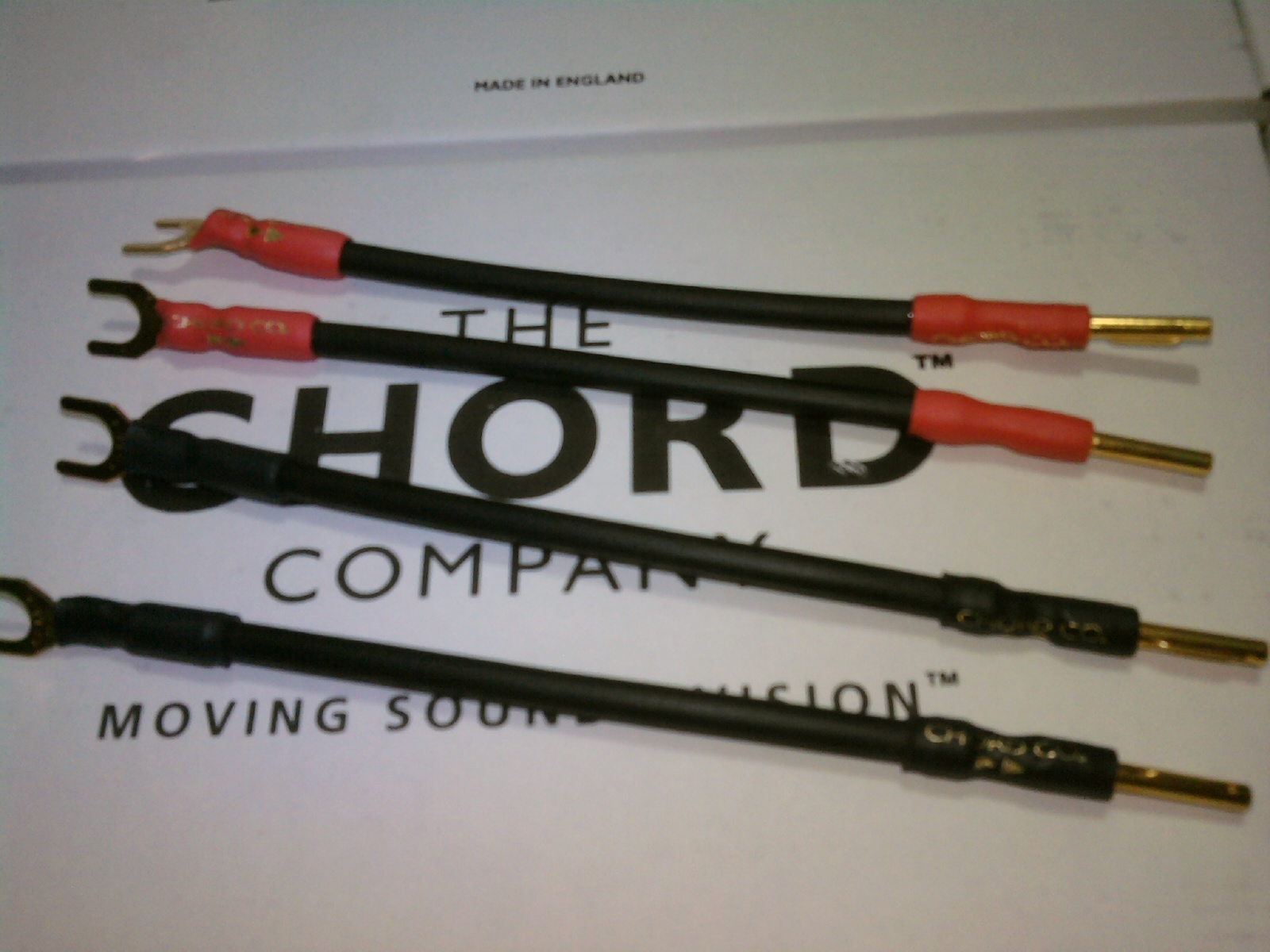 Chord Signature Speaker Jumper Cables (set of 4)